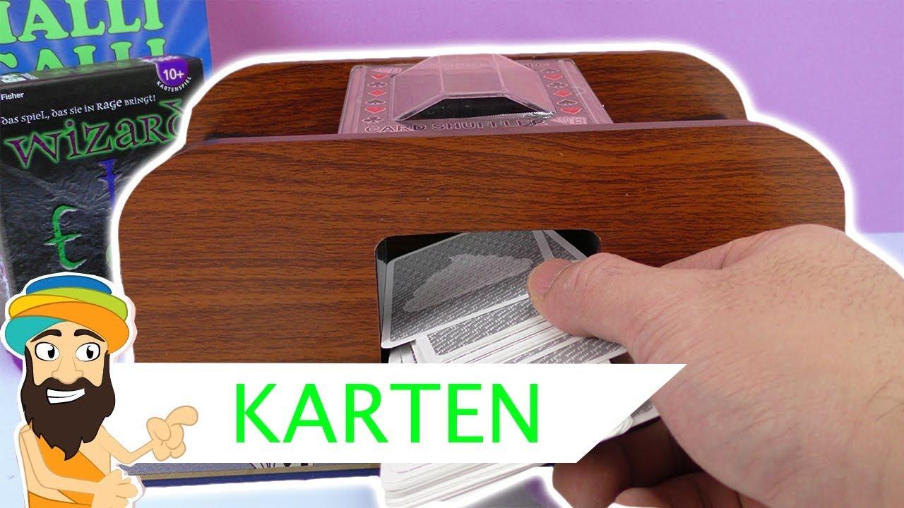 Elektrische Kartenmischmaschine Test - Oder doch lieber selber ...