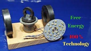 led light bulb energy use free electricity 100% free energy new technology