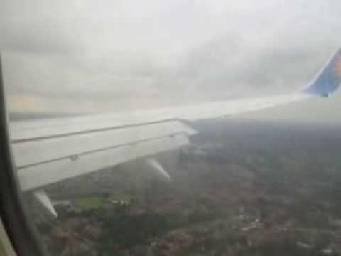 Jet 2 Flight 864 landing at Manchester