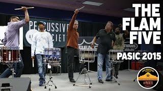 Performance Spotlight: The Flam Five (PASIC 2015)