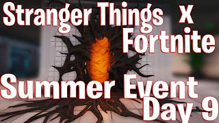 Six Shooter Unvaulted Stranger Things Fortnite Event - 14 Days of Summer Event Day 9 - Free Spray