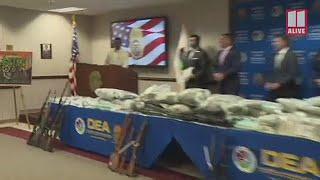 DEA announces huge Atlanta heroin seizure, arrest of drug trafficker