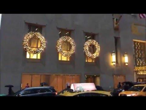 New York Christmas 2016 | New Year in New York | Merry Christmas 2015 | Christmas songs 2015 😍