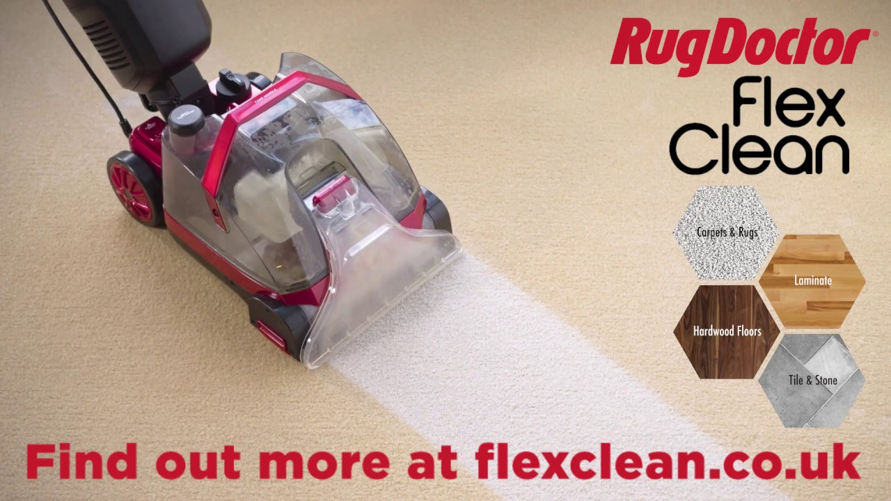 Rug Doctor FlexClean -- Multi Surface