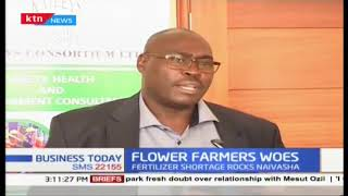 Flower Farmers dealing with lack of fertilizers