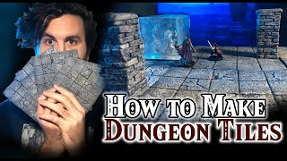 How To Make Dunġeons Tiles! [CHEAP and EASY!]