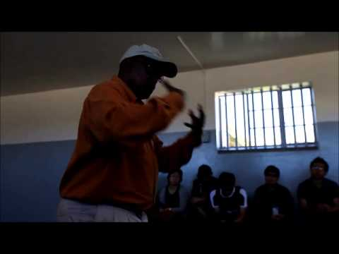 Cipo, our Robben Island Tour Guide/Former Inmate Speaks