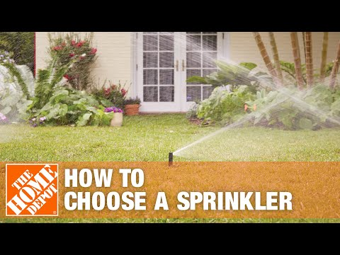 How To Choose a Sprinkler - The Home Depot - YouTube