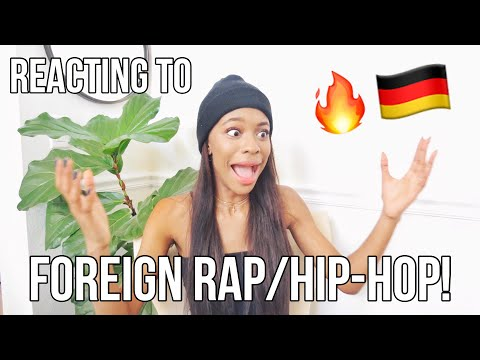 AMERICAN REACTS TO FOREIGN RAP/HIP HOP! (German EDITION!) 🔥