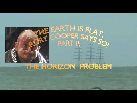 The Earth is Flat, Rory Cooper says so! Part II: The Horizon Problem