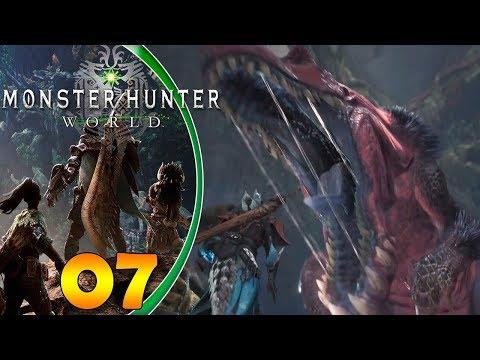 Monster Hunter World  Español   ¡¡Lucha a muerte contra Anjanath!! thumbnail