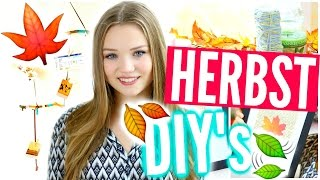 HERBST DIY's ~ Room Decor Ideen für den Herbst! | Julia Beautx
