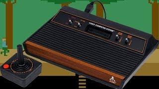 Przegląd gier Atari 2600 #1 - retro