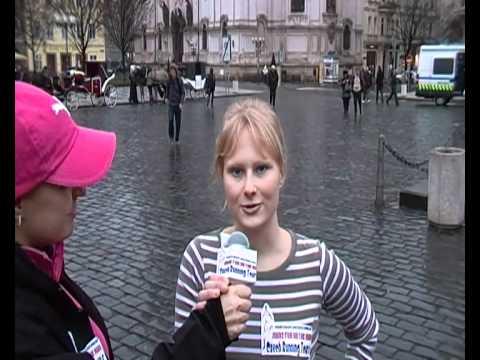 Czech running tours - guide Ivana