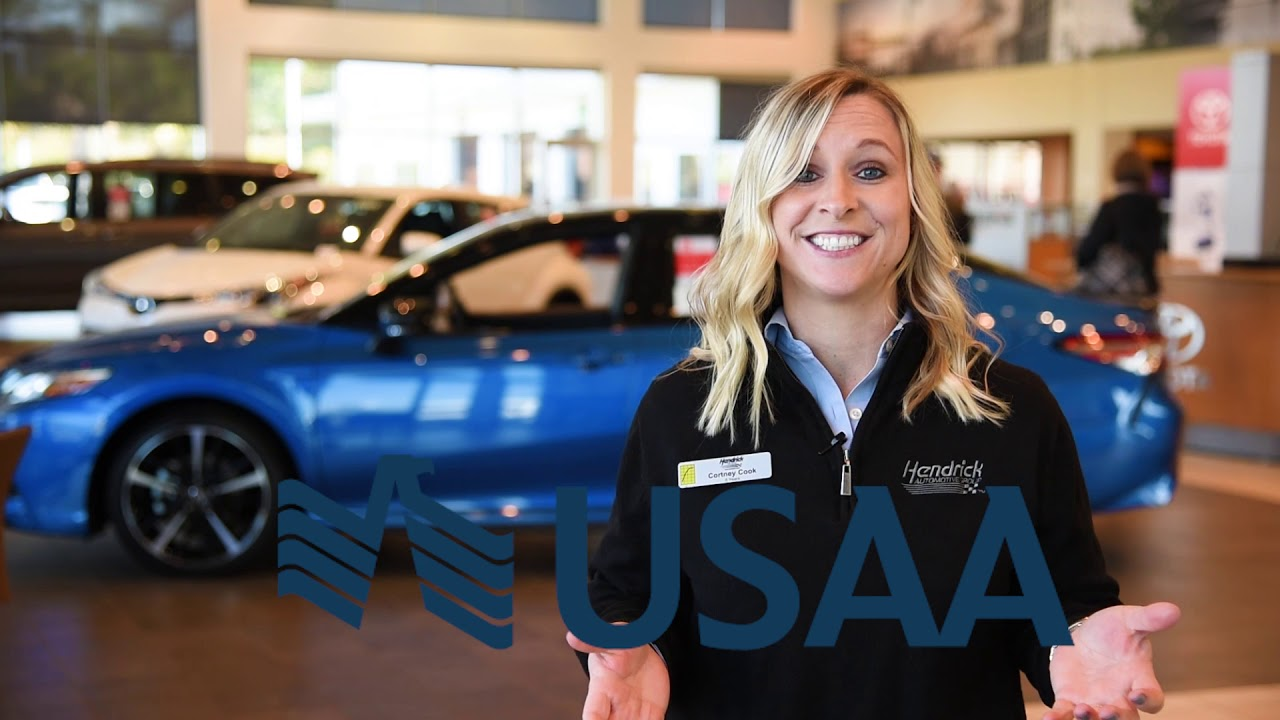 USAA Member Pricing At Hendrick Toyota Of Wilmington