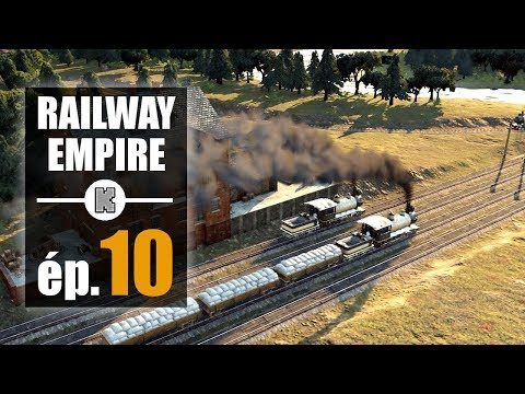 [FR] Let's play Railway Empire ép 10 (gameplay PREVIEW)