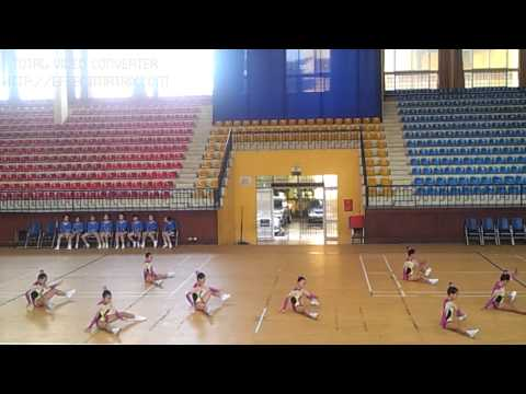 video aerobic thieu nien Q.LONG BIEN 2012