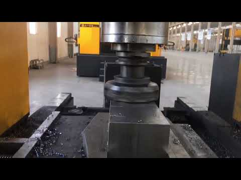 China high speed one spindle cnc metal milling machine for steel block