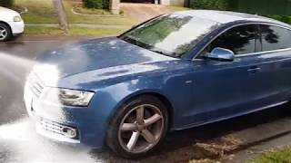 Snow Foam with Sumo Wash Audi A5