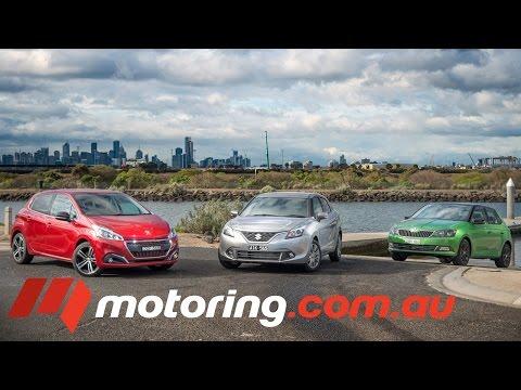 Peugeot 208 vs Skoda Fabia vs Suzuki Baleno