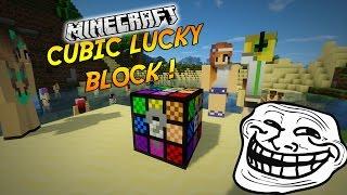 "LE LUCKY BLOCK TROLL ! | Présentation du mod ""CUBIC LUCKY BLOCK""! - [1.7.10]"