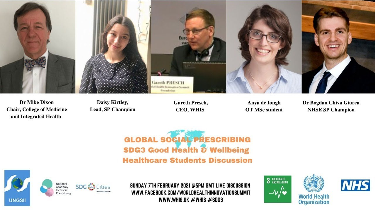 Healthcare Students - UN Sustainable Development Goal 3 Good Health & Wellbeing