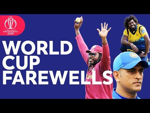 World Cup Farewells | Goodbye Dhoni, Malinga, Gayle, and more! | ICC Cricket World Cup 2019
