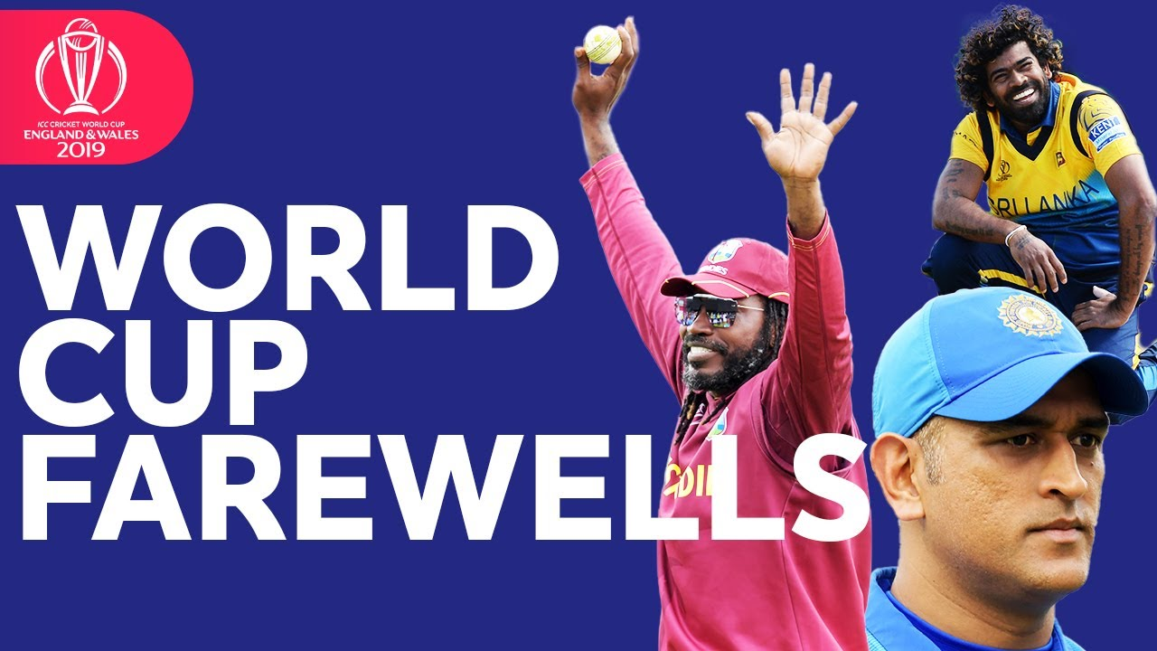 World Cup Farewells | Goodbye Dhoni, Malinga, Gayle, and more! | ICC Cricket World Cup 2019