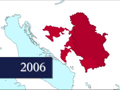 Territorial evolution of Serbia (1815 - today)
