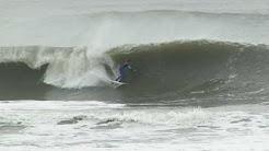 Surfing Ida at Lido Beach New York 11 15 09
