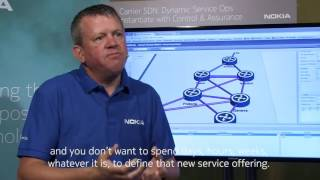 Steve Aubrey demonstrates optimized service delivery with network a...