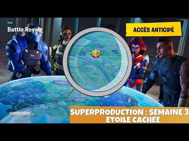 Fortnite Etoile Cache Semaine 3 Youtubedownloadpro