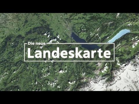 Die neue Landeskarte der Schweiz