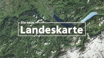 Die neue Landeskarte der Schweiz - Wie sie hergestellt wird