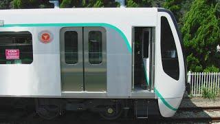 甲種輸送前の東急田園都市線新型車両10両編成2020系2738、2138編成1号車2138両を撮影!