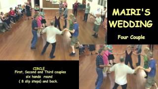 Dance Instructions - Mairi's Wedding