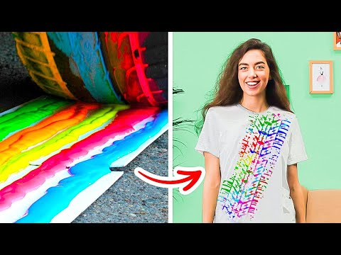 FUN T-SHIRT UPGRADES    TRANSFORM YOUR OLD T-SHIRTS INTO SOMETHING COOL WITH THESE BRIGHT IDEAS