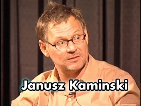 Janusz Kaminski On Working With Steven Spielberg