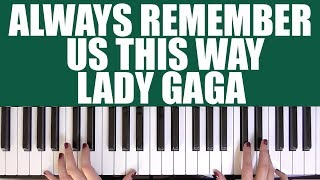 Baixar HOW TO PLAY: ALWAYS REMEMBER US THIS WAY - LADY GAGA