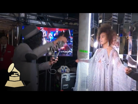 Solange Knowles | Backstage | 59th GRAMMYs