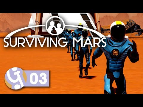 🚀 Our First Colonists! | Let's Play Surviving Mars (Pre-Release) #03