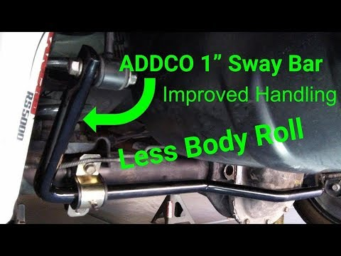 Addco 684 1 Sway Bar for Jeep