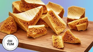 Professional Baker Teaches You How To Make HONEYCOMB!