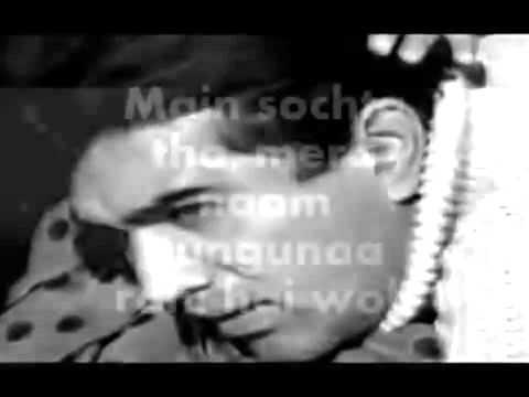 Woh Sham Kuch Ajeeb Thi Karaoke & Lyrics Khamoshi