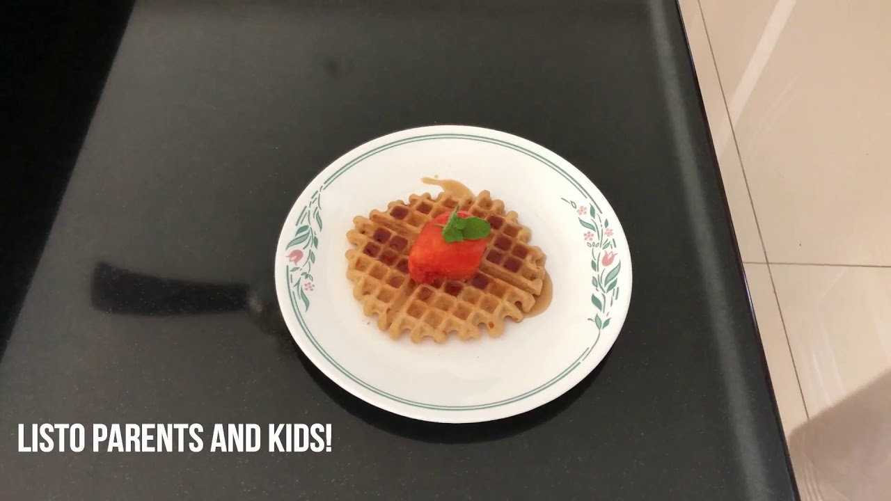 Clean Food For Clean People: Waffle Delight