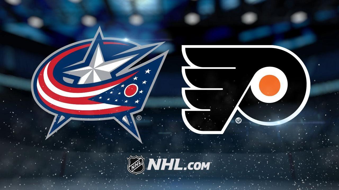 Flyers cruise past Blue Jackets, 6-0 - YouTube