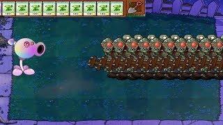 Plants vs Zombies Hypno-shroom vs Gatling Snow Pea vs Gargantu…