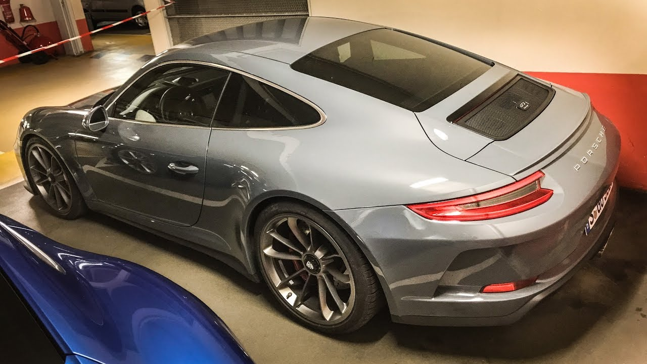 exclusive the brand new porsche gt3 touring and 911 carrera t spotted youtube. Black Bedroom Furniture Sets. Home Design Ideas