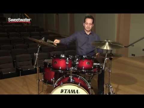TAMA Silverstar Custom 5-piece Drum Kit Review by Sweetwater