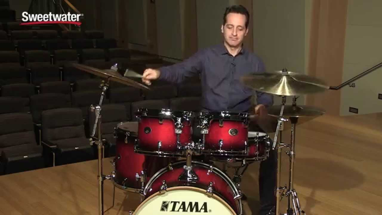 Tama Silverstar Custom 5 Piece Drum Kit Review By Sweetwater Youtube